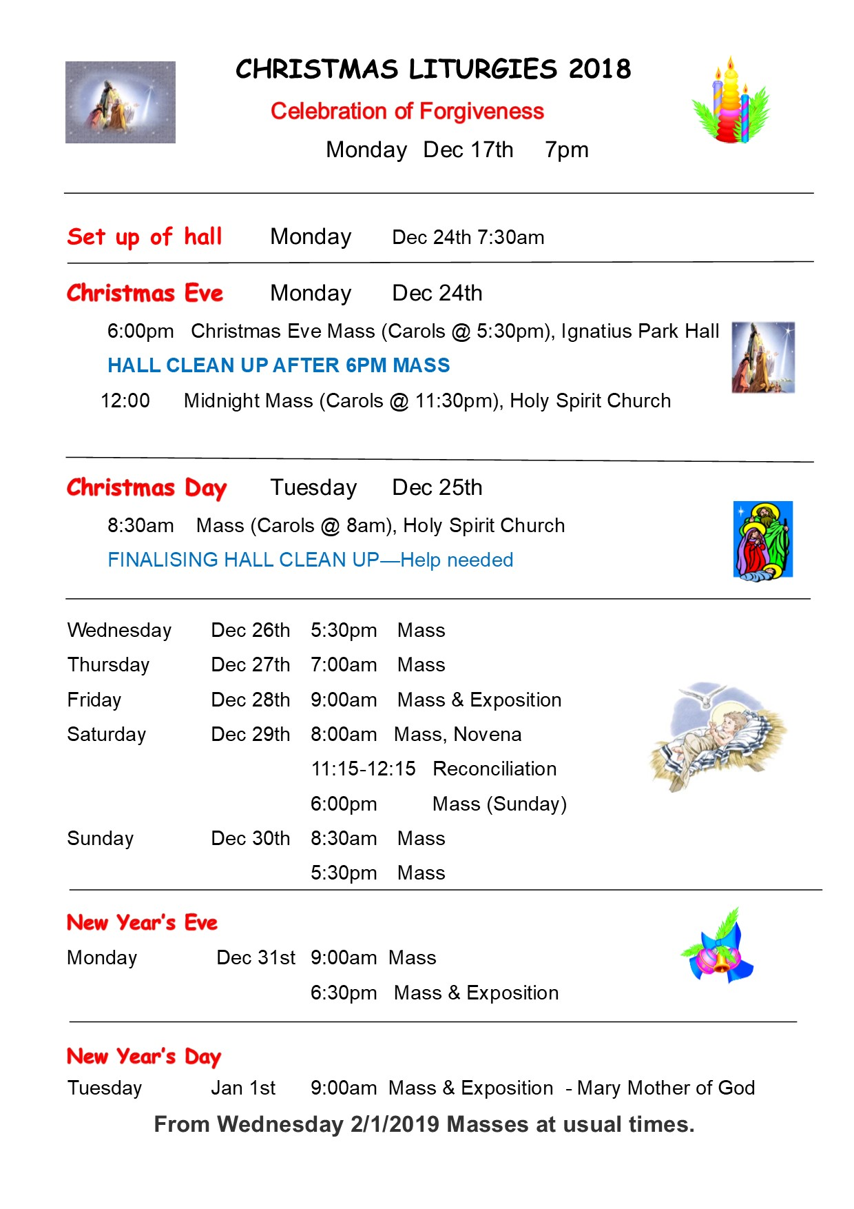 Holy Spirit Catholic School eNewsletter